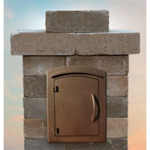 Cambridge Pre Packaged Olde English Wall Column Mailbox Kit 9 Brothers Building Supply