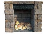 maytrx-wall-outdoor-fireplace-kit-firewood-box-extension-kit
