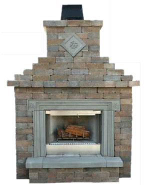 Cool Cambridge Pre Packaged Olde English Wall Fireplace Kit Interior Design Ideas Clesiryabchikinfo