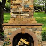stone-veneer-outdoor-fireplace