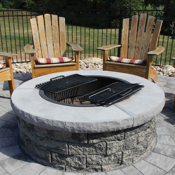 Fire Pit Copings • 9 Brothers Building Supply