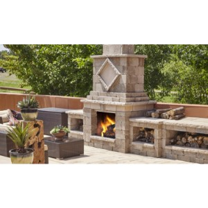 Techo-Bloc Fireplaces