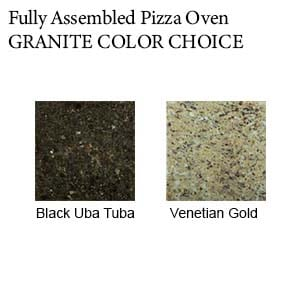 Cambridge Fully Assembled Pizza Oven Granite