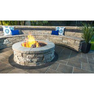 Unilock Rivercrest Fire Pit Kit